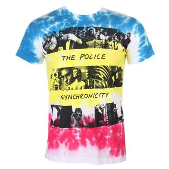 Herren T-Shirt Metal Police - SYNCHRONICITY - LIQUID BLUE, LIQUID BLUE, Police