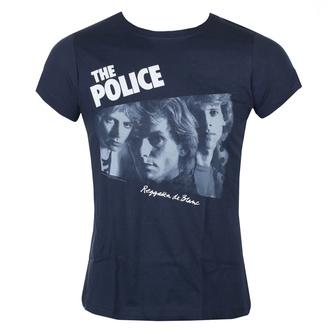 Damen T-Shirt Metal Police - REGATTA DE BLANC - LIQUID BLUE, LIQUID BLUE, Police