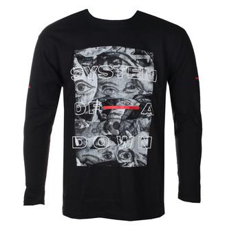 Herren T-Shirt Metal System of a Down - Eye Collage - ROCK OFF, ROCK OFF, System of a Down