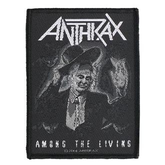 Patch Aufnäher Anthrax - Among The Living - RAZAMATAZ, RAZAMATAZ, Anthrax