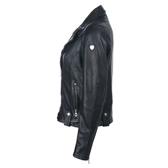 Damen Lederjacke GG Favorit - Black, NNM