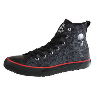 Herren High Top Sneaker SKULL SCROLL - SPIRAL, SPIRAL