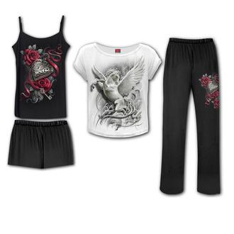 Damen Pyjama (set) SPIRAL - PURITY - gotisch Schlafanzug Set, SPIRAL