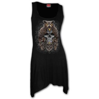 Damen Kleid SPIRAL - DEATH WISDOM - Schwarz, SPIRAL