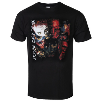 Herren T-Shirt Metal System of a Down - PAINTED FACES - PLASTIC HEAD, PLASTIC HEAD, System of a Down