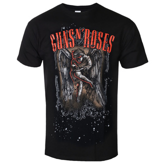 Herren T-Shirt Metal Guns N' Roses - Sketched Cherub - ROCK OFF, ROCK OFF, Guns N' Roses