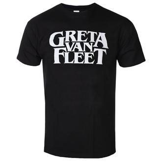 Herren T-Shirt Metal Greta Van Fleet - Logo - ROCK OFF, ROCK OFF, Greta Van Fleet