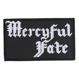 Patch Aufnäher Mercyful Fate - Logo - RAZAMATAZ, RAZAMATAZ, Mercyful Fate
