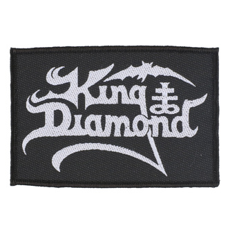 Patch Aufnäher King Diamond - Logo - RAZAMATAZ, RAZAMATAZ, King Diamond