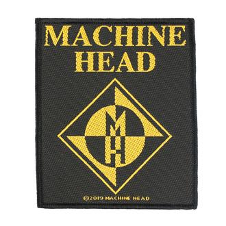 Patch Aufnäher Machine Head - Diamond Logo - RAZAMATAZ, RAZAMATAZ, Machine Head