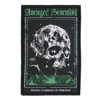 Patch Aufnäher Avenged Sevenfold - Vortex Skull - RAZAMATAZ, RAZAMATAZ, Avenged Sevenfold