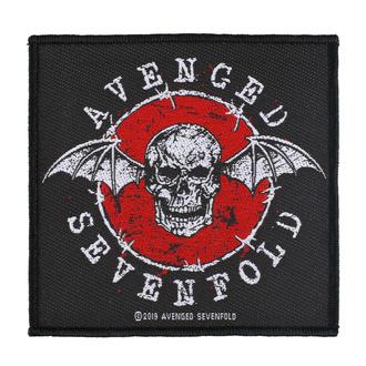 Patch Aufnäher Avenged Sevenfold - Distressed Skull - RAZAMATAZ, RAZAMATAZ, Avenged Sevenfold