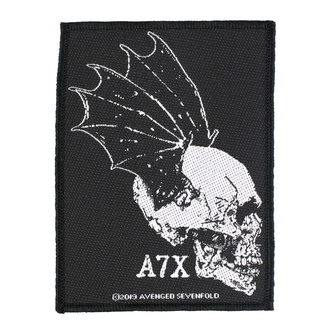 Patch Aufnäher Avenged Sevenfold - Skull Profile - RAZAMATAZ, RAZAMATAZ, Avenged Sevenfold