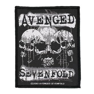 Patch Aufnäher Avenged Sevenfold - 3 Skulls - RAZAMATAZ, RAZAMATAZ, Avenged Sevenfold