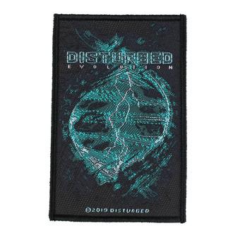 Patch Aufnäher Disturbed - Evolution - RAZAMATAZ, RAZAMATAZ, Disturbed