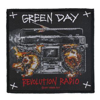 Patch Aufnäher Green Day - Revolution Radio - RAZAMATAZ, RAZAMATAZ, Green Day