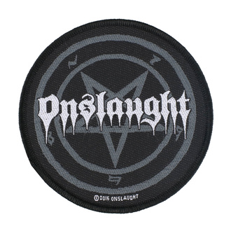 Patch Aufnäher Onslaught - Pentagram - RAZAMATAZ, RAZAMATAZ, Onslaught