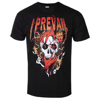 Herren T-Shirt Metal I Prevail - Orange Skull - KINGS ROAD, KINGS ROAD, I Prevail