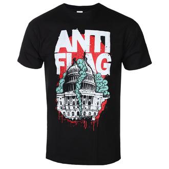 Herren T-Shirt Metal Anti-Flag - Washington DC Black - KINGS ROAD, KINGS ROAD, Anti-Flag