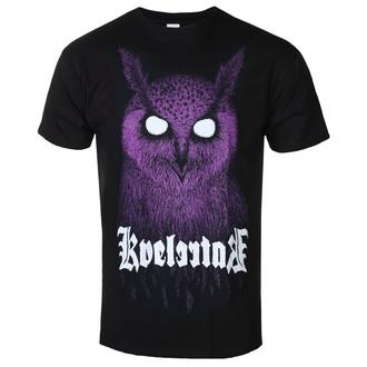 Herren T-Shirt Metal Kvelertak - Barlett Owl Purple - KINGS ROAD, KINGS ROAD, Kvelertak