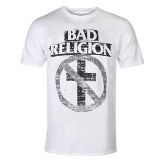 Herren T-Shirt Metal Bad Religion - Typewriter Crossbuster - KINGS ROAD, KINGS ROAD, Bad Religion