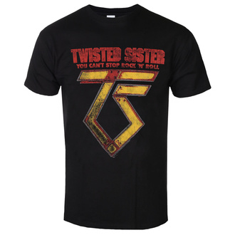 Herren T-Shirt Metal Twisted Sister - You can't stop Rock ´n´ Roll - LOW FREQUENCY, LOW FREQUENCY, Twisted Sister
