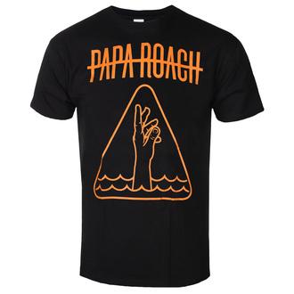 Herren T-Shirt Metal Papa Roach - Hand Icon - KINGS ROAD, KINGS ROAD, Papa Roach