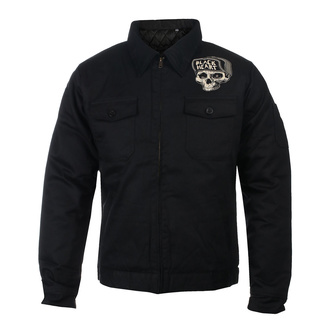 Herren Jacke BLACK HEART - GARAGE BUILT - SCHWARZ, BLACK HEART