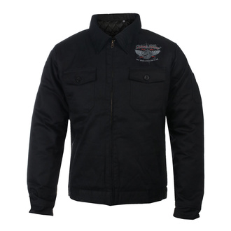 Herren Jacke BLACK HEART - RED BARON CHOPPER - SCHWARZ, BLACK HEART