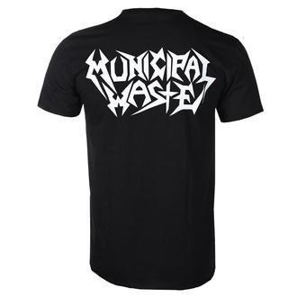 Herren T-Shirt Metal Municipal Waste - Logo - ART WORX, ART WORX, Municipal Waste