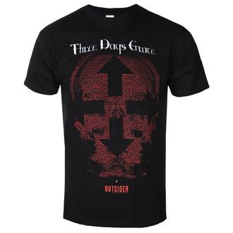Herren T-Shirt THREE DAYS GRACE - SKULL - PLASTIC HEAD - PHD3DGTSBSKU