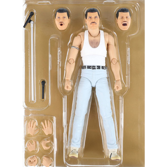 Actionfigur Queen - Freddie Mercury - SH. Figuarts - Live Aid Ver., NNM, Queen