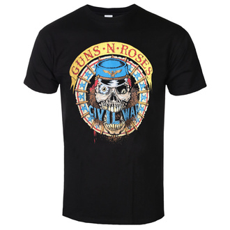 Herren T-Shirt Guns N' Roses - Skull Circle - ROCK OFF, ROCK OFF, Guns N' Roses