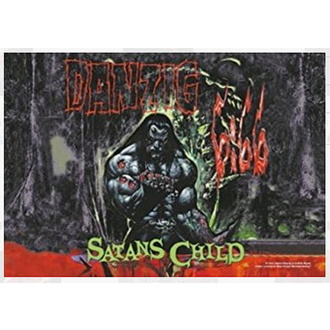 Flagge Danzig - Satan Child, HEART ROCK, Danzig