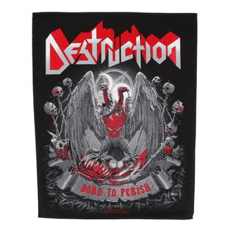 Rückenaufnäher groß Destruction - Born to Perish - RAZAMATAZ, RAZAMATAZ, Destruction
