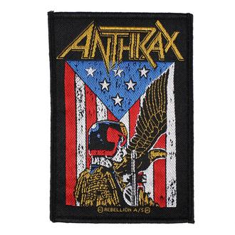 Patch Aufnäher Anthrax - Judge Dredd - RAZAMATAZ, RAZAMATAZ, Anthrax