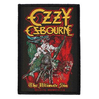 Patch Aufnäher Ozzy Osboume - The Ultimate Sin - RAZAMATAZ, RAZAMATAZ, Ozzy Osbourne