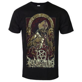 Herren T-Shirt Thy Art Is Murder - Evil Pope - Schwarz - INDIEMARCH, INDIEMERCH, Thy Art Is Murder