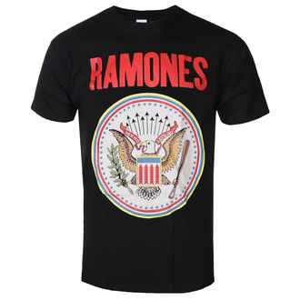 Herren T-Shirt Ramones - Full Colour Seal - ROCK OFF, ROCK OFF, Ramones