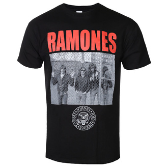 Herren T-Shirt Ramones - Cage Photo - ROCK OFF, ROCK OFF, Ramones