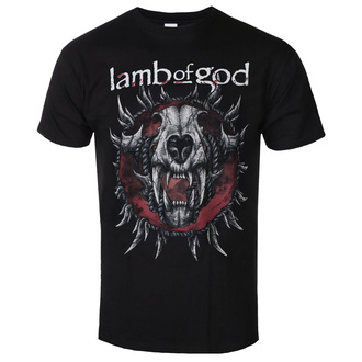 Herren T-Shirt Lamb Of God - Radial - ROCK OFF, ROCK OFF, Lamb of God
