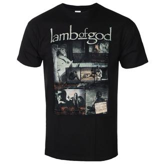 Herren T-Shirt Lamb Of God - Album Collage - ROCK OFF, ROCK OFF, Lamb of God