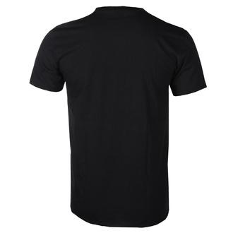 Herren T-Shirt Nirvana - Blue Smiley - ROCK OFF, ROCK OFF, Nirvana