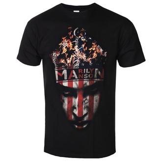 Herren T-Shirt Marilyn Manson - Crown - ROCK OFF, ROCK OFF, Marilyn Manson