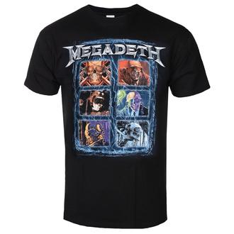 Herren T-shirt Megadeth - Head Grip - ROCK OFF, ROCK OFF, Megadeth