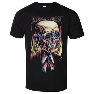 Herren T-shirt Megadeth - Flaming - ROCK OFF, ROCK OFF, Megadeth