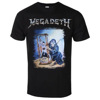 Herren T-shirt Megadeth - Countdown Hourglass - ROCK OFF, ROCK OFF, Megadeth