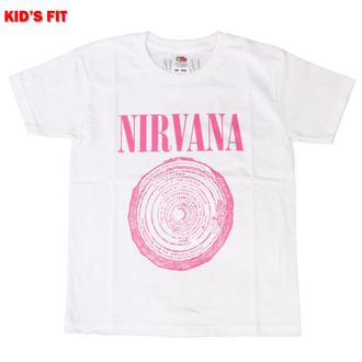 Kinder T-shirt Nirvana - Vestibule - WHT - ROCK OFF, ROCK OFF, Nirvana