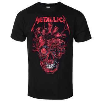 Herren T-shirt Metallica - Heart Skull, ROCK OFF, Metallica