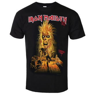 Herren T-shirt Iron Maiden - Debut Album 40th Anniversary, ROCK OFF, Iron Maiden